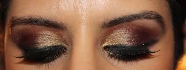 cranberry gold arabic eyeshadow tutorial