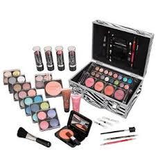 jumbl carry all trunk makeup kit with reusable aluminum case holiday set no 2
