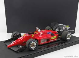 GP-REPLICAS GP028A Masstab: 1/18 | FERRARI F1 156/85 N 27 SEASON 1985 M. ALBORETO RED