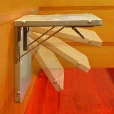 wall mounted space saving foldable