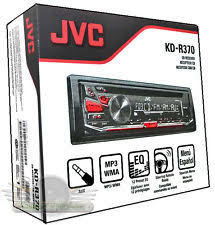 jvc car stereo jvc kd r370 cd mp3 wma fm aux detachable face
