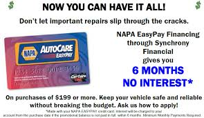 napa easypay willoughby hills auto repair is an authorized napa easy pay retailer