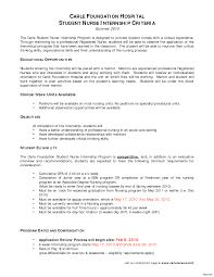 Nursing School Graduate Resume Resume Online Builder