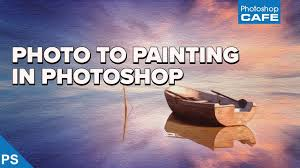 how to turn a photo into an oil painting in photo