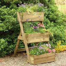 diy vertical raised container planter box for small vegetable garden spaces in the backyard ideas and