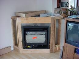 frame a corner fireplace with our calculator