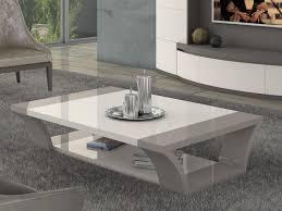carlotta modern coffee table in ivory