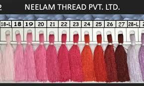 Viscose Rayon Shades Neelam Thread