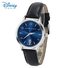 online get cheap mens disney watch aliexpress com alibaba group disney watches relojes hombre brand quartz watch men casual business leather analog watch men s relogio gift