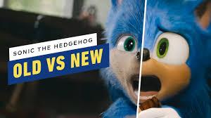 Original Sonic Design Sonic The Hedgehog Old And New Design Comparison
