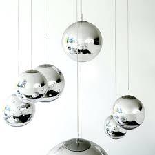 glass ball light fixture wonderful modern tom mirror glass ball pendant lights restaurant for hanging ball