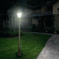 solar yard light post solar led fence post lights solar yard lamp post outdoor lighting best outdoor solar pole lights