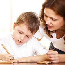 Image result for images of kids and homework
