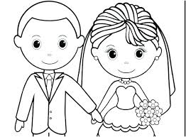 Coloring Pages For Weddings Antiatominfo