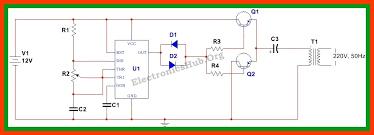 12v dc to 220v ac converter inverter circuit design circuit 12v dc to 220v ac converter inverter circuit design