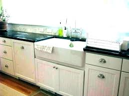 33 reinhard double bowl fireclay farmhouse sink white a front cast iron in single kitchen full