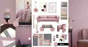 mauve furniture and decor color trend