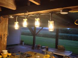 diy pipe lighting. black iron pipe and mason jar light fixture diy lighting