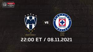 2021 SCCL   CF Monterrey 🇲🇽 vs 🇲🇽 Cruz ...