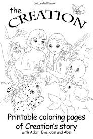 creation coloring sheet perfect day 6 creation coloring page obsession sheets bible pages