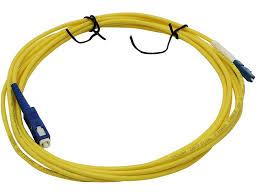 <b>Сетевой кабель</b> VCOM Optical <b>Patch</b> Cord LC-SC UPC Simplex 3m ...