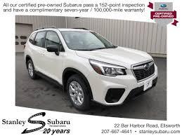 2009 Subaru Forester Brake Warning Light Used 2019 Subaru Forester Base Model For Sale In Ellsworth