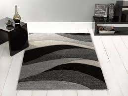 astounding inspiration black and grey area rugs 12