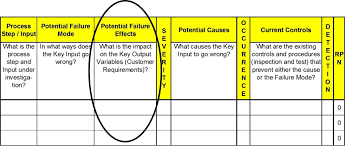 process failure modes and effects analysis lean six sigma fmea online training