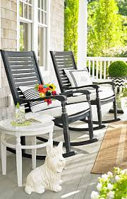chair front porch rocking chairs outdoor red deck full size large white wooden fauteuil rotin rond
