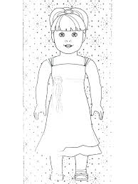 American Girl Coloring Pages Free Girl Coloring Pages Girl Coloring