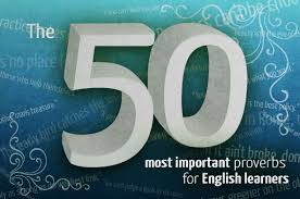 The 50 Most Important English Proverbs Phrasemixcom