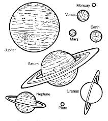 Solar System Coloring Sheets Planets Coloring Pages Planets