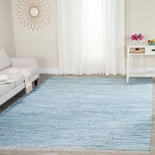 safavieh rag rug light blue multi 5 ft x 7 ft area rug
