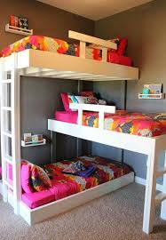 Hackers Help: How to make this triple bunk bed?