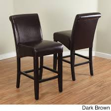 faux leather bar stools. Monsoon Milan Faux Leather Counter Stools (Set Of 2) - Free Shipping Today Overstock 17767032 Bar D