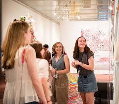 Teens Collage College Students Teens Mcnay Art Museum