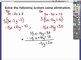 solving system of equations by substitution calculator luxury systems of equations d elimination method