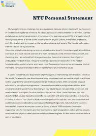 Personal Statement Examples For University Writing A Personal Statement For Technological Universities