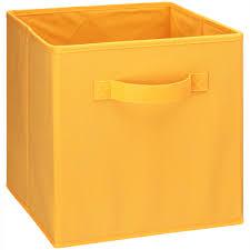 closetmaid cubeicals orange cream fabric drawer
