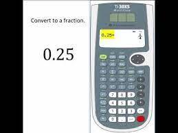 ti30xs multiview calculator decimals