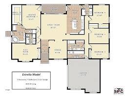 ranch style floor plans. Five Bedroom Ranch House Plans 5 Style Elegant Floor Plan Model .