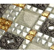 Vitreous Mosaic Tile Diamond Crystal Glass Backsplash Kitchen Design Art  Bathroom Wall Tiles ...