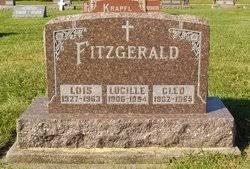 Cleo Fitzgerald (1902-1965) - Find A Grave Memorial