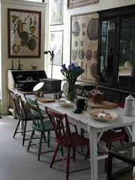 brilliant mismatched dining chairs the decorologist dining room table with diffe colored chairs prepare