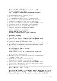 Resume Template For Chef – Kappalab