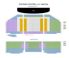 Charles E Smith Center Seating Chart Seating Charts Winston Salem Symphony