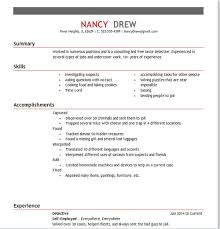 How would you write her resume? Obviously there are a LOT of on-the-job  experiences and random skills you can add!