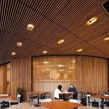 wood slat ceiling wood plank ceiling