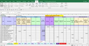 Expences Forms Expense Form Template