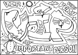 Small Picture Graffiti Coloring Page Coloring Coloring Pages